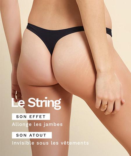 Découvrez tous nos strings sur Etam.com