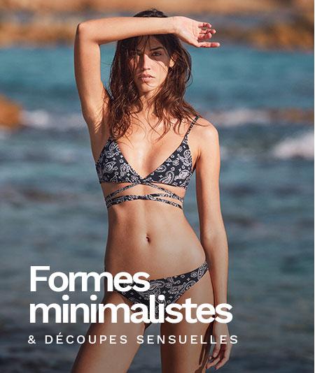 Nouvelle collection bain imprimé cachemire - maillots de bain aux formes graphiques